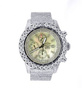 Breitling Super Avenger best replica Iced Out