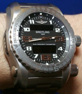Swiss watch with personal locator