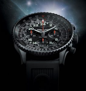 breitling navitimer cosmonaute blacksteel replica watch