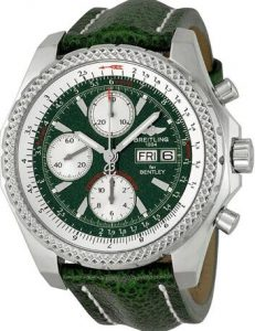 replica breitling bentley gt automatic green dial