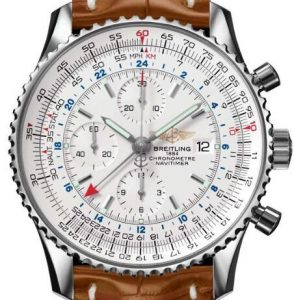 fake navitimer world gmt chronograph genuino