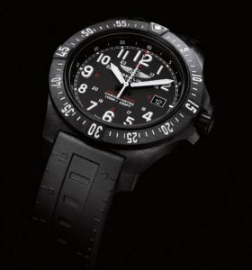 The new Breitling Colt Skyracer, cased in Breitlight.
