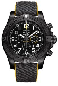 fake breitling avenger hurricane in black